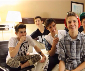 magcon boys, guys, and cameron dallas image