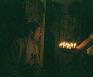 birthday, candles, and film image