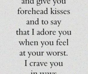 love, quotes, and crave image