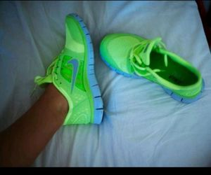 fit, neon, and nike image