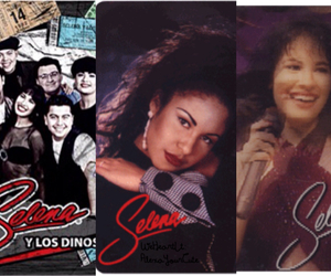 selena quintanilla perez, hologram card, and collector's items image