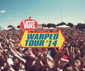 warped tour, vans, and band image