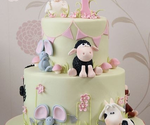 baby, cake, and delicious image