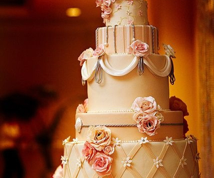 cake, decoration, and delicious image
