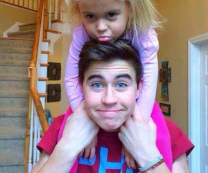nash grier, nash, and sister image