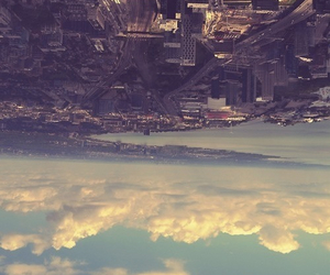 city, sky, and clouds image