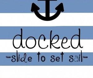 anchor, sail, and wallpaper image
