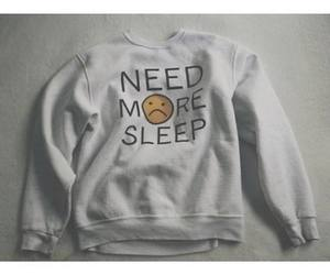 sleep, clothes, and sweater image