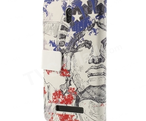 statue of liberty, cool htc case, and htc leather stand image