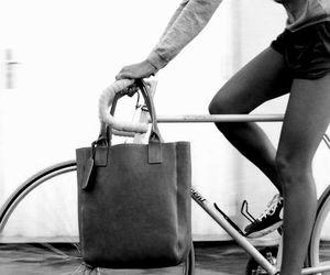 bike, bag, and nike image