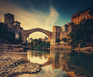 Bosnia, mostar, and nature image