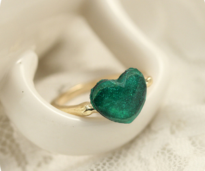 accessories, fashion jewelry, and heart image