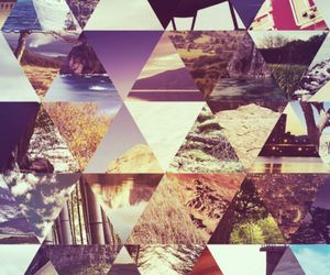 triangle, indie, and hipster image