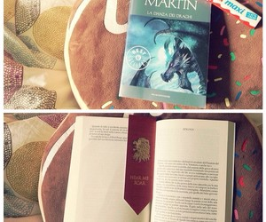 book, reading, and game of thrones image