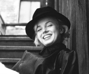Marilyn Monroe and smiling image