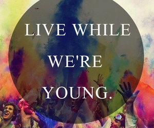 young, live, and one direction image