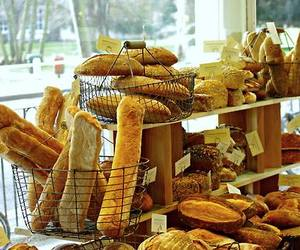 bakery, boulangerie, and bread image