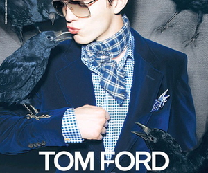 nicholas hoult and tom ford image