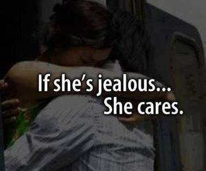 love, care, and jealous image