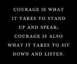 courage, inspiration, and life image