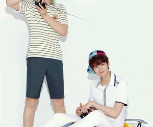 baby lulu, exo m, and baekhyun image
