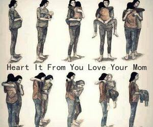 love, mother, and mom image
