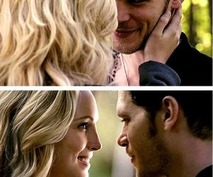 klaroline, tvd, and the vampire diaries image