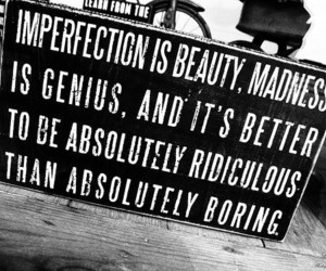 inspiring, perfection, and quote image
