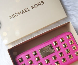 pink, Michael Kors, and luxury image
