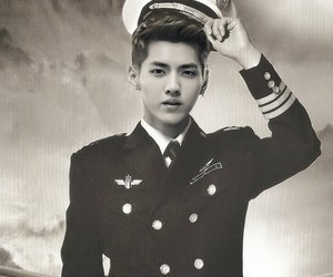 exo, kris, and leader image