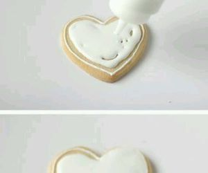 diy, icing, and heart image