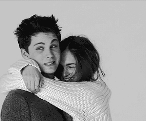 hug, love, and logan lerman image