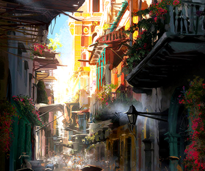 concept art, havana, and assassin's creed image