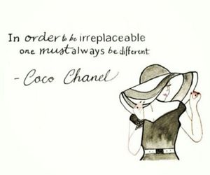 quote, fashion, and cocochanel image