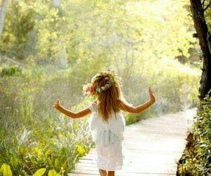 nature, child, and kids image