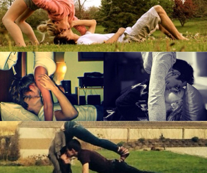 couple, gymnastics, and cute image