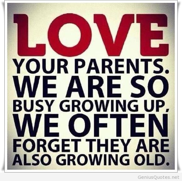Love Your Parents Uploaded By Quotes Sayings On We Heart It
