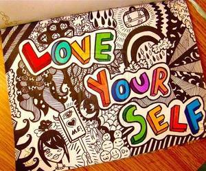 love yourself, photography, and text image