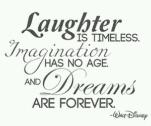 Dream, imagination, and disney image
