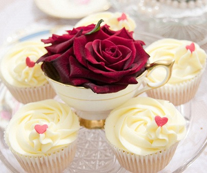 cupcakes, delicious, and sweet image