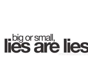 lies, quotes, and big image