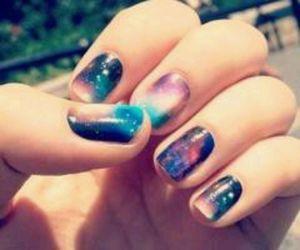 nails, galaxy, and art image
