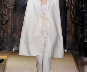 runway, valentino couture, and white image