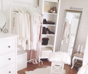 all, wardrobe, and white image