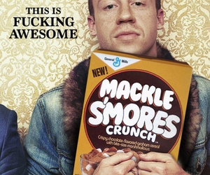 macklemore, cereal, and awesome image