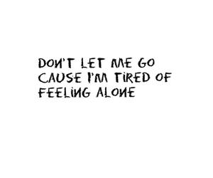 alone, Lyrics, and quotes image