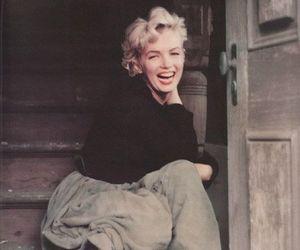 Marilyn Monroe, smile, and woman image