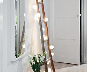 light, home, and decor image