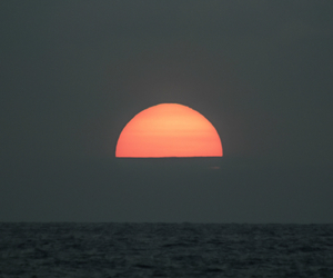 sunset, photography, and sea image