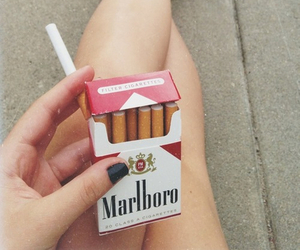 cigarette, problems, and love image